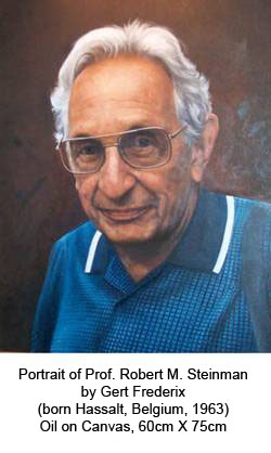 Portrait of Prof. Robert M. Steinman